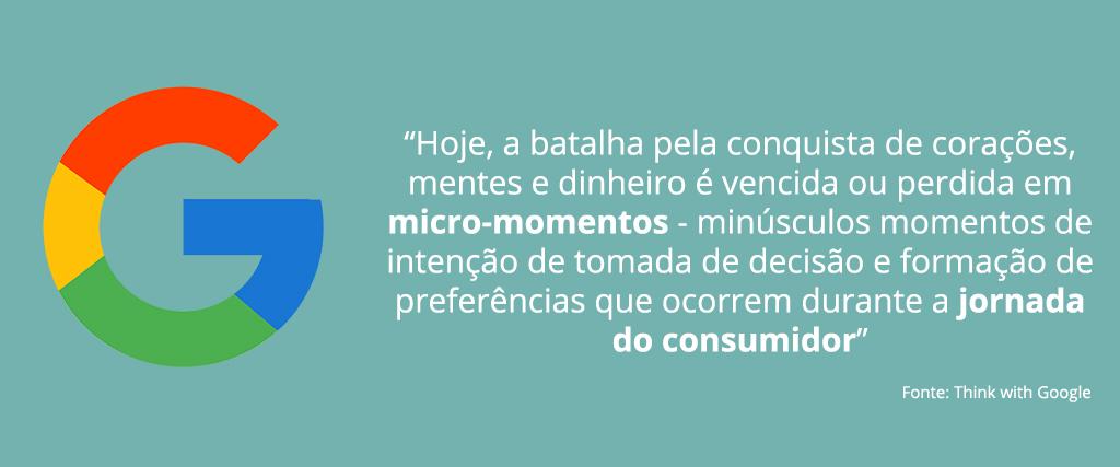 O impacto dos Micro-Momentos durante a jornada do consumidor