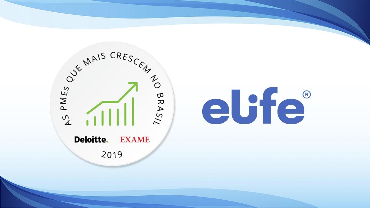Elife está entre as PMEs que mais crescem no Brasil pelo quarto ano